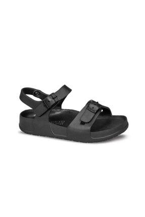 Ceyo Erkek Çocuk Siyah Sandalet