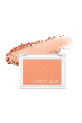 Missha Kadife Dokulu Allık Cotton Blusher (Carrot Butter Cream) 8809581444324