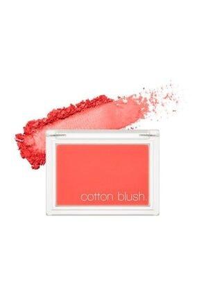 Missha Kadife Dokulu Allık Cotton Blusher (Red Flat) 8809581444331