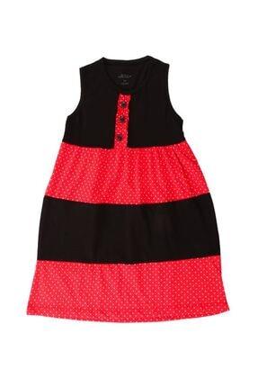 Zafoni Çocuk Bordo Günlük Elbise