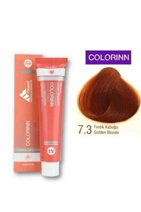 Colorinn 7.3 Fındık Kabuğu Saç Boyası Oksidan Hediyeli
