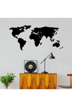 bifra Dekoratif Tablo Dünya Haritası 140cm - Siyah
