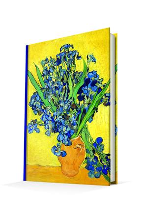 DEFFTER Les Irıs (van Gogh) 14x20 Sert Kapak Defter
