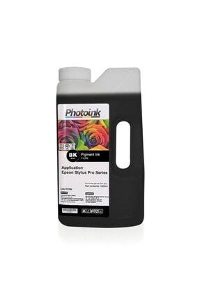 EPSON Stylus Pro Için 1000 Ml Photo Black Pigment Plotter Mürekke