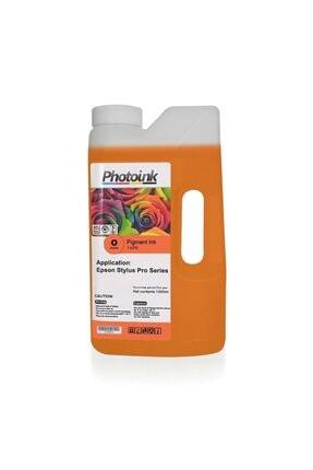 EPSON Stylus Pro Için 1000 Ml Orange Pigment Plotter Mürekkep (t-