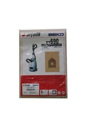 Arçelik Bks 1310 / S 6690 Elektrikli Süpürge Toz Torbası 5 Adet