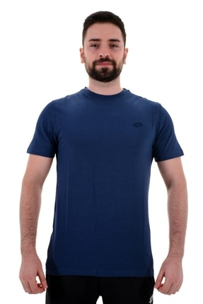 Lotto T-shirt Erkek Mavi-soft Tee Pl Iı-r8889