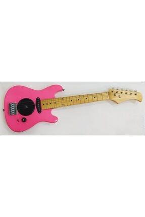 Sadrazam 5-10 Yaş Çocuk Elektro Gitar (pembe)