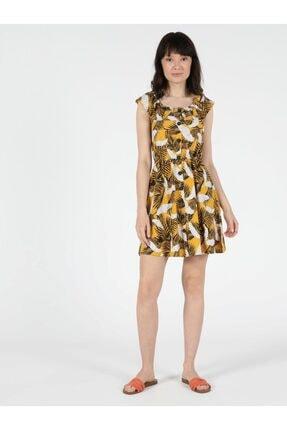 Colin's KADIN Regular Fit Kadın Sarı Elbise CL1051433
