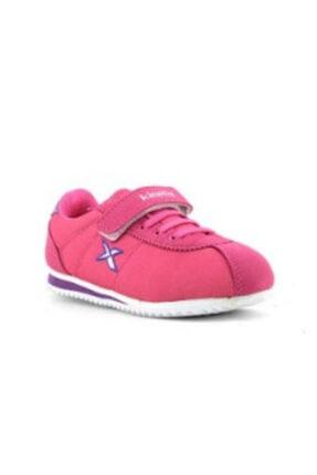 Kinetix Kinto Mesh Kız Çocuk Cırtlı Spor Ayakkabı Mercan Beyaz