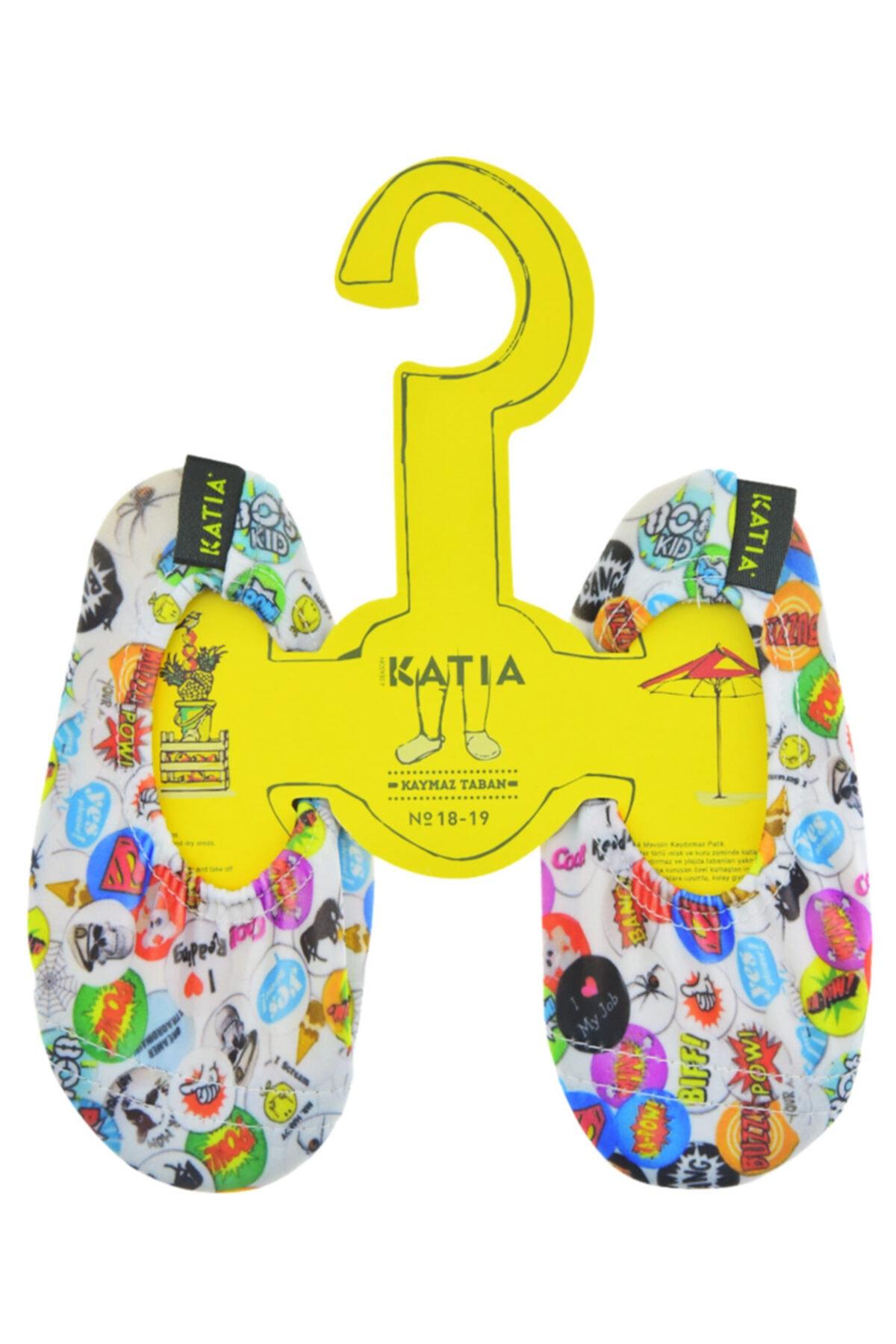 Katia&Bony Çocuk Renkli Cartoon Kaydırmaz Makosen 2