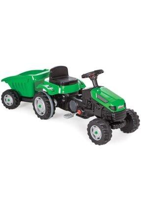 PİLSAN Yeşil Active Römorklu Traktör Pedallı /