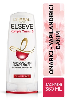 ELSEVE Komple Onarıcı 5 Saç Kremi 360 ml