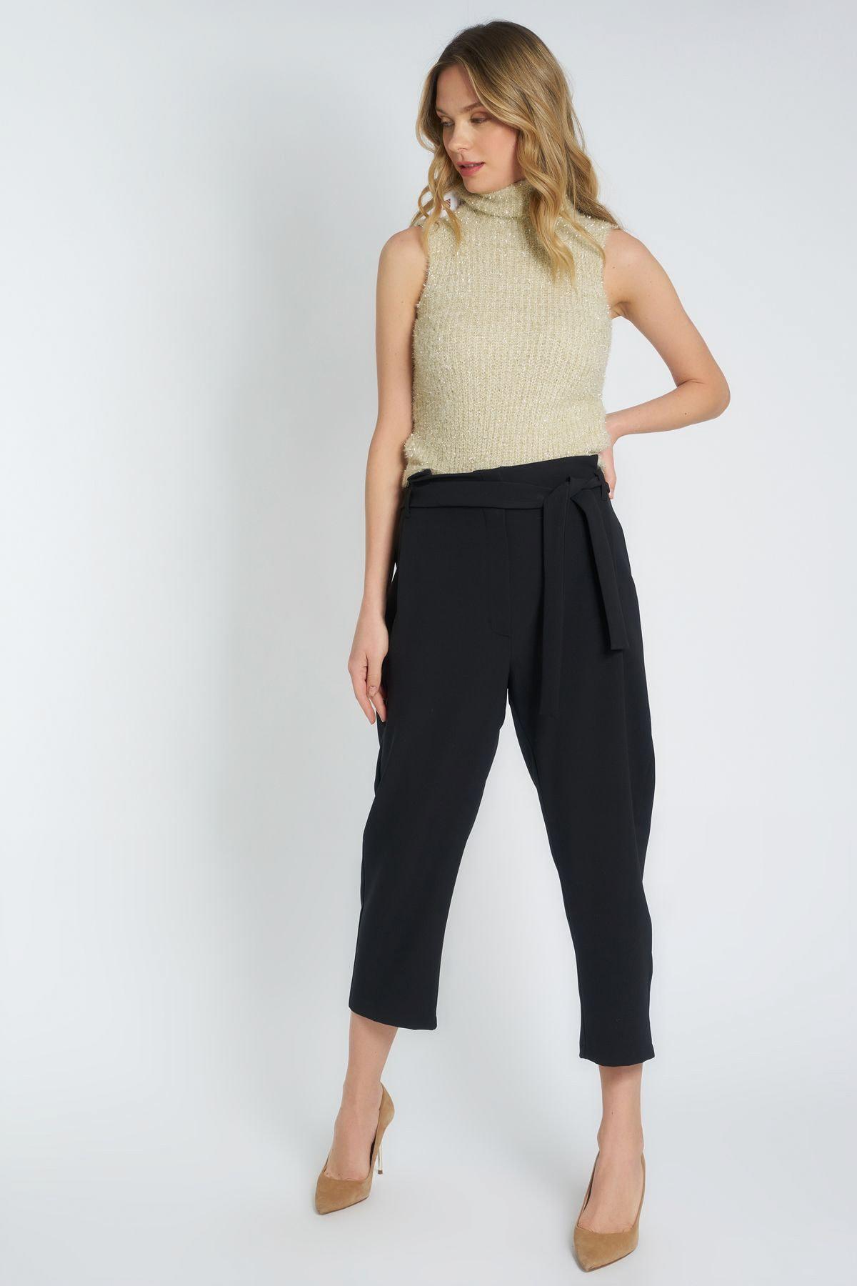 HomeStore Kadın Sıyah Pantolon 19630002062 2