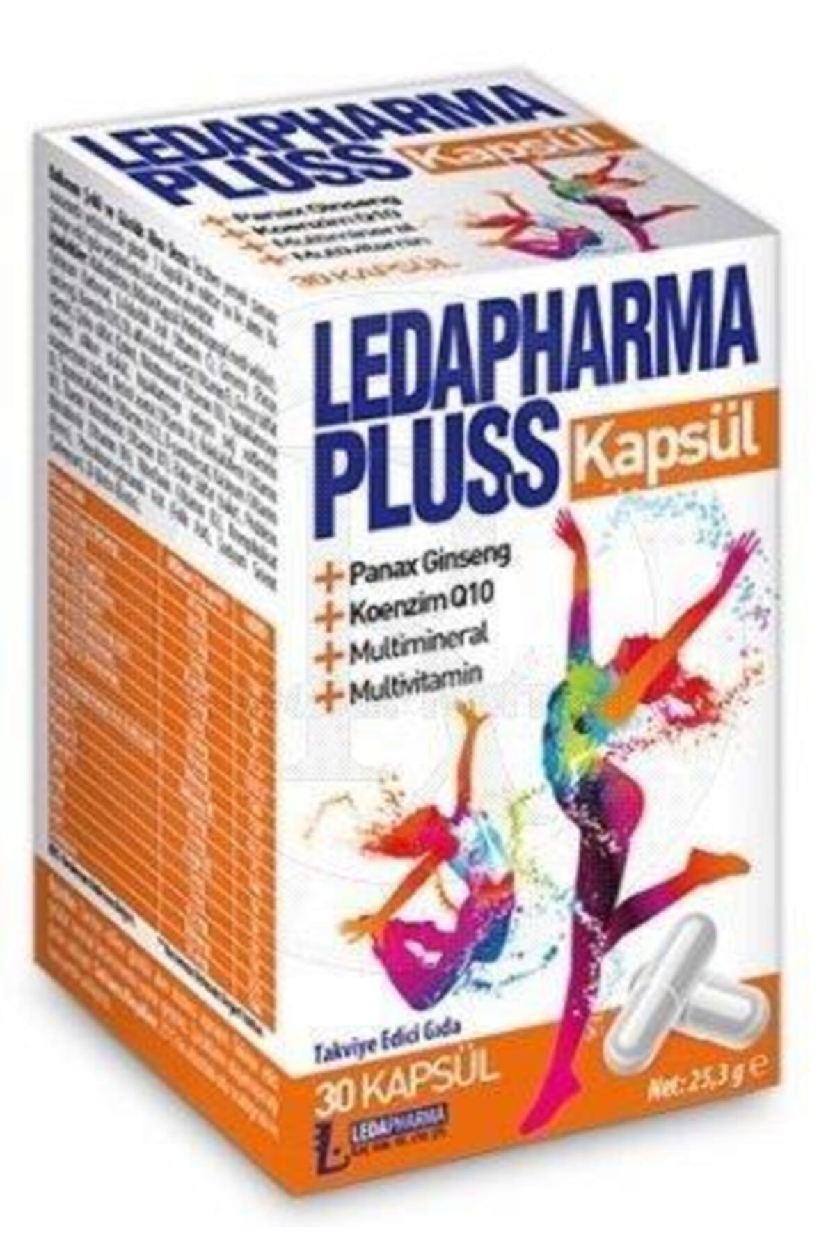 LedaPharma Pharma Pluss 30 Kap 1