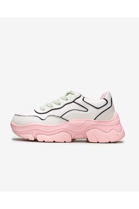 SKECHERS Amp'd - Kadın Beyaz/açık Pembe Ayakkabı 155038 Wlpk