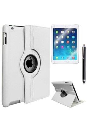 Mobilteam Apple İpad 6 Air 2 Dönebilen Standlı Kılıf - Beyaz