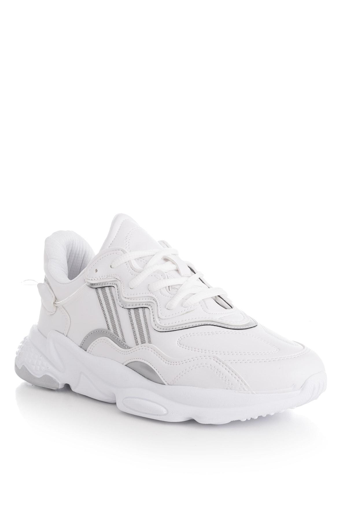 Tonny Black Unısex Spor Ayakkabı Beyaz Cilt Tb248 -> 40 -> Beyaz Cilt 1