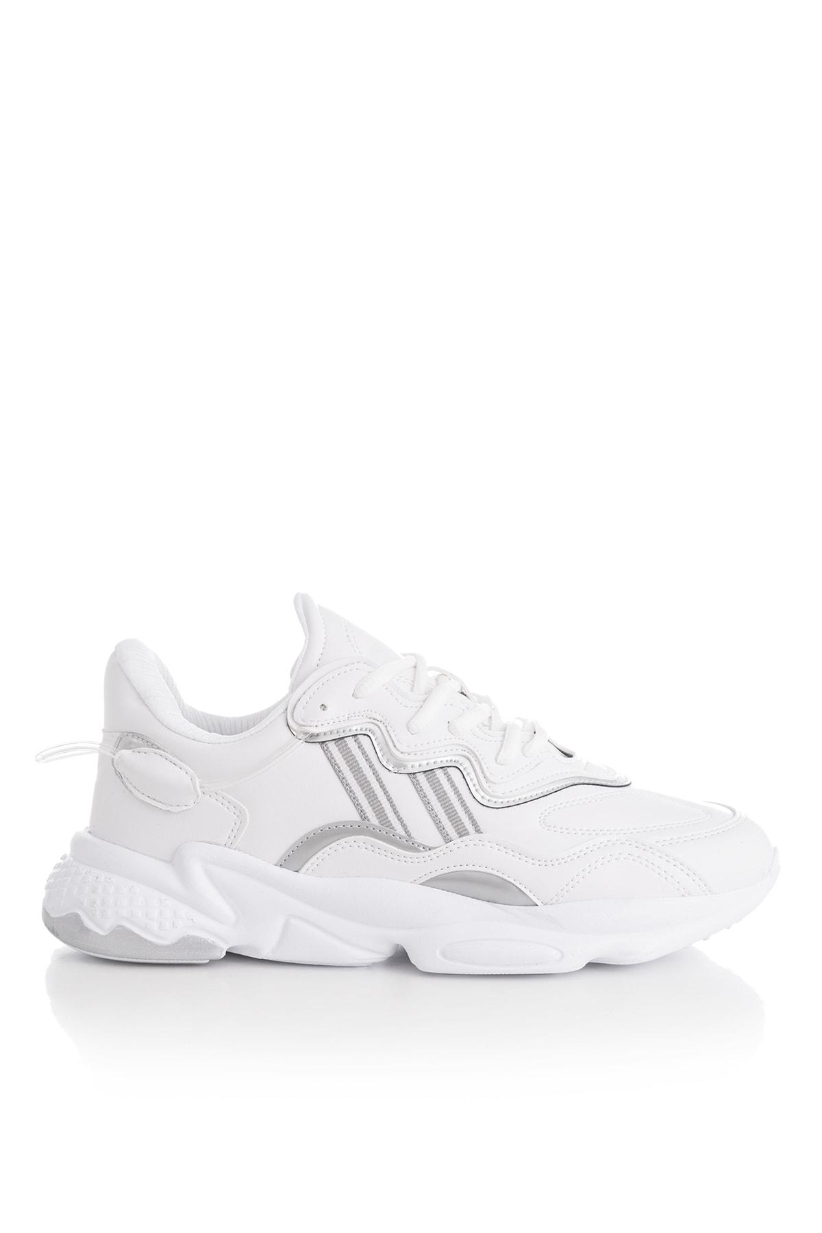 Tonny Black Unısex Spor Ayakkabı Beyaz Cilt Tb248 -> 40 -> Beyaz Cilt 2