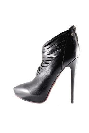Cesare Paciotti Kadın Siyah  Topuklu Bot 923810