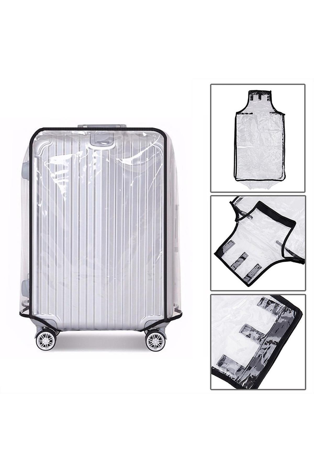 Mybag My Bag My13340-l Şeffaf Unısex Valiz Kılıfı Büyük Boylar Için