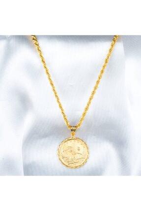 Bilezikci Tam Reşatlı 22 Ayar Altın Kolye