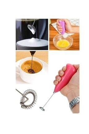 yeni11 Pilli Mini Çırpıcı El Mikser Pratik Kahve Cappuccino Karıştırıcı Süt Köpürtücü