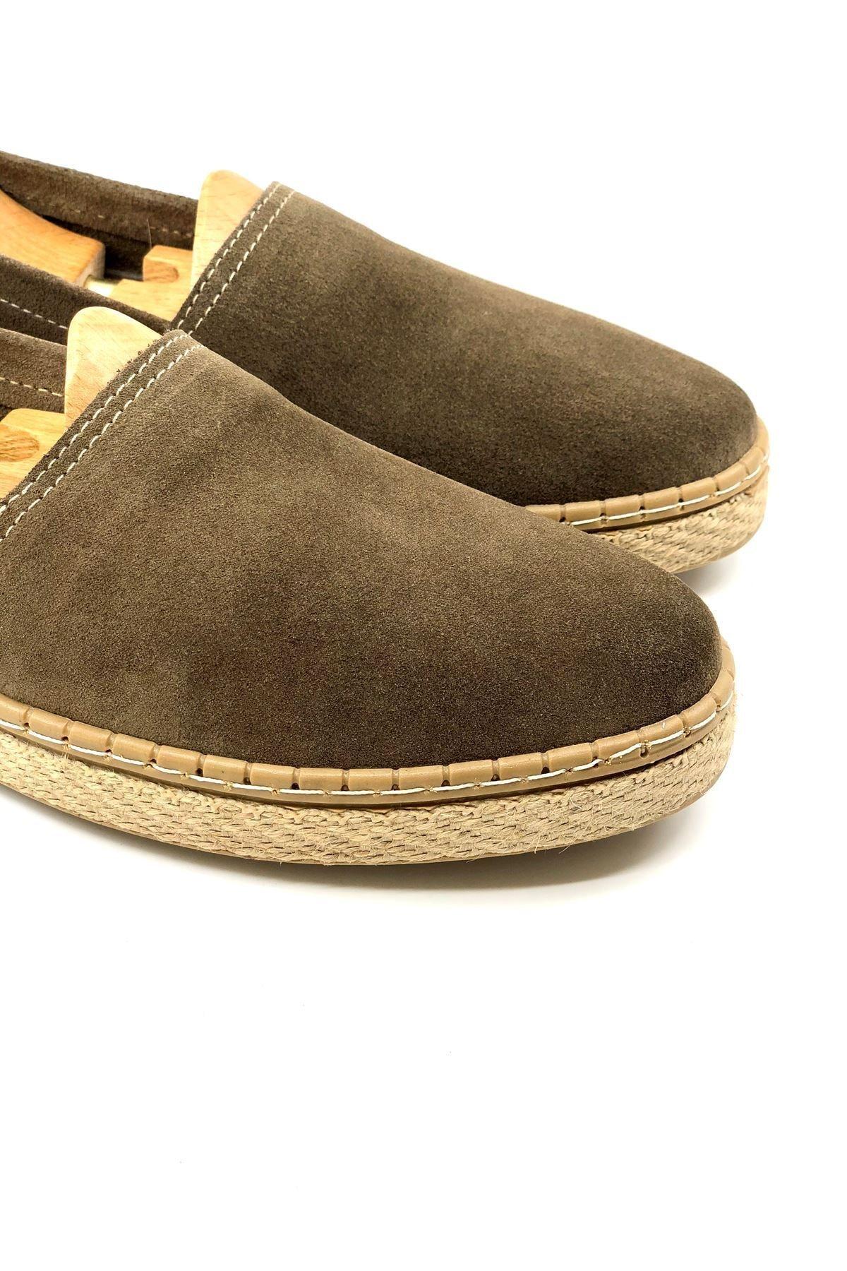 TETRİ Erkek Bej Hakiki Süet Klasik Ayakkabı 2