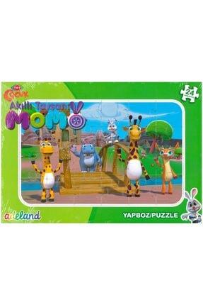 Adel And Trt Çocuk Akıllı Tavşan Momo 24 Parça Yapboz / Puzzle (3+)