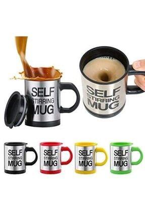 Cooker Karıştırıcı Özellikli Mikser Kupa Bardak Self Stirring Mug