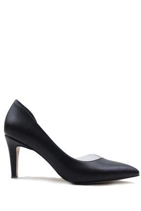 Buffalo Kadın Fashion Design Siyah Topuklu Ayakkabı