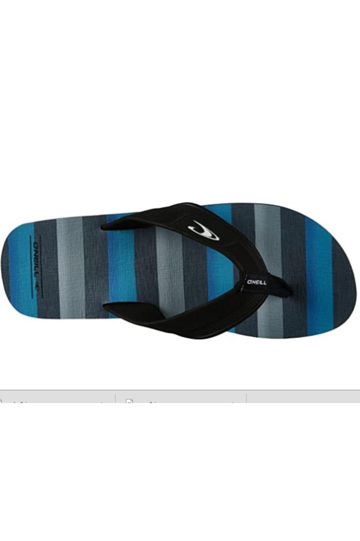 O'Neill Fm Imprint Santa Cruz Flip Flop Blue Aop,black 7a4524 2