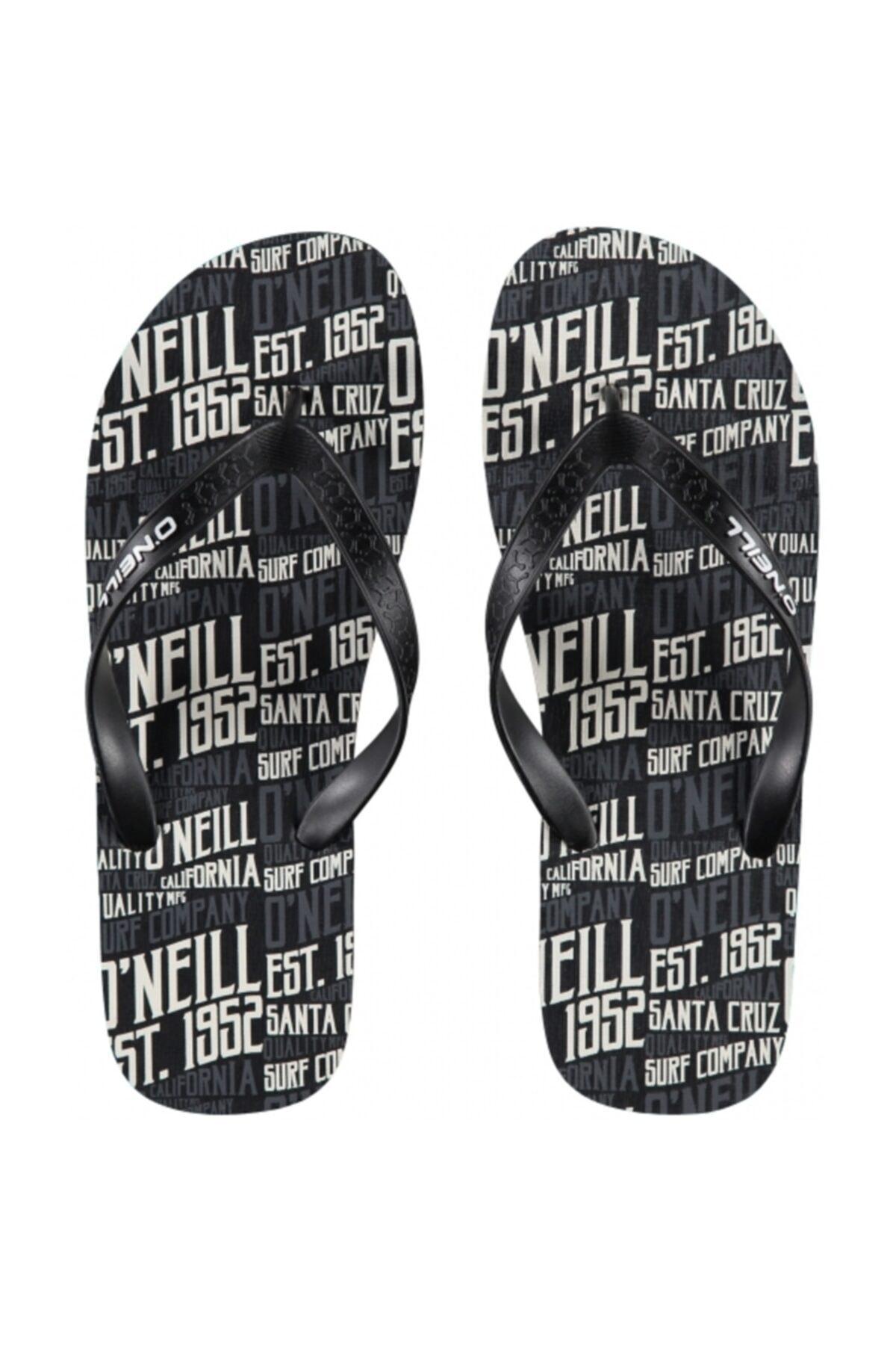 O'Neill Fm Profile Pattern Flip Flops Black Aop 7a4528 1