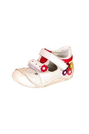 ÖZPINARCI Ilk Adım Çocuk Kız Bebek Cırtlı Deri Ortopedik Ayakkabı