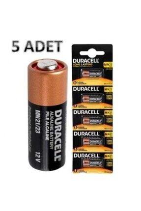 Duracell Mn21 23a 12 Volt Alkaline Pil 5 Adet