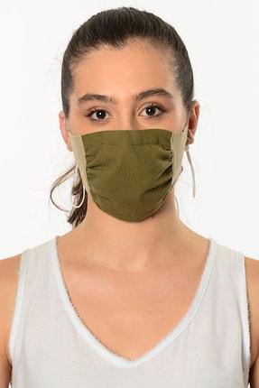 Etnik Esintiler Haki Taş Rengi 3002 Maske