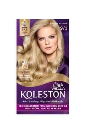 Wella Koleston 9/1 Kit Boya Özel Açık Kül Sarısı