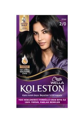 Wella Koleston 2/0 Kit Boya Siyah 8681655341405