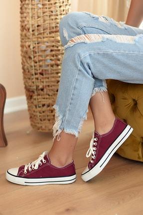 Pembe Potin Unisex Bordo Ayakkabı