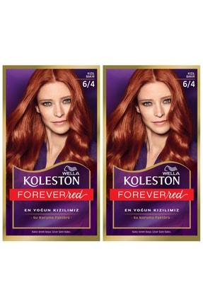 Wella Koleston 6/4 Kit Kızıl Bakır Saç Boyası 2li