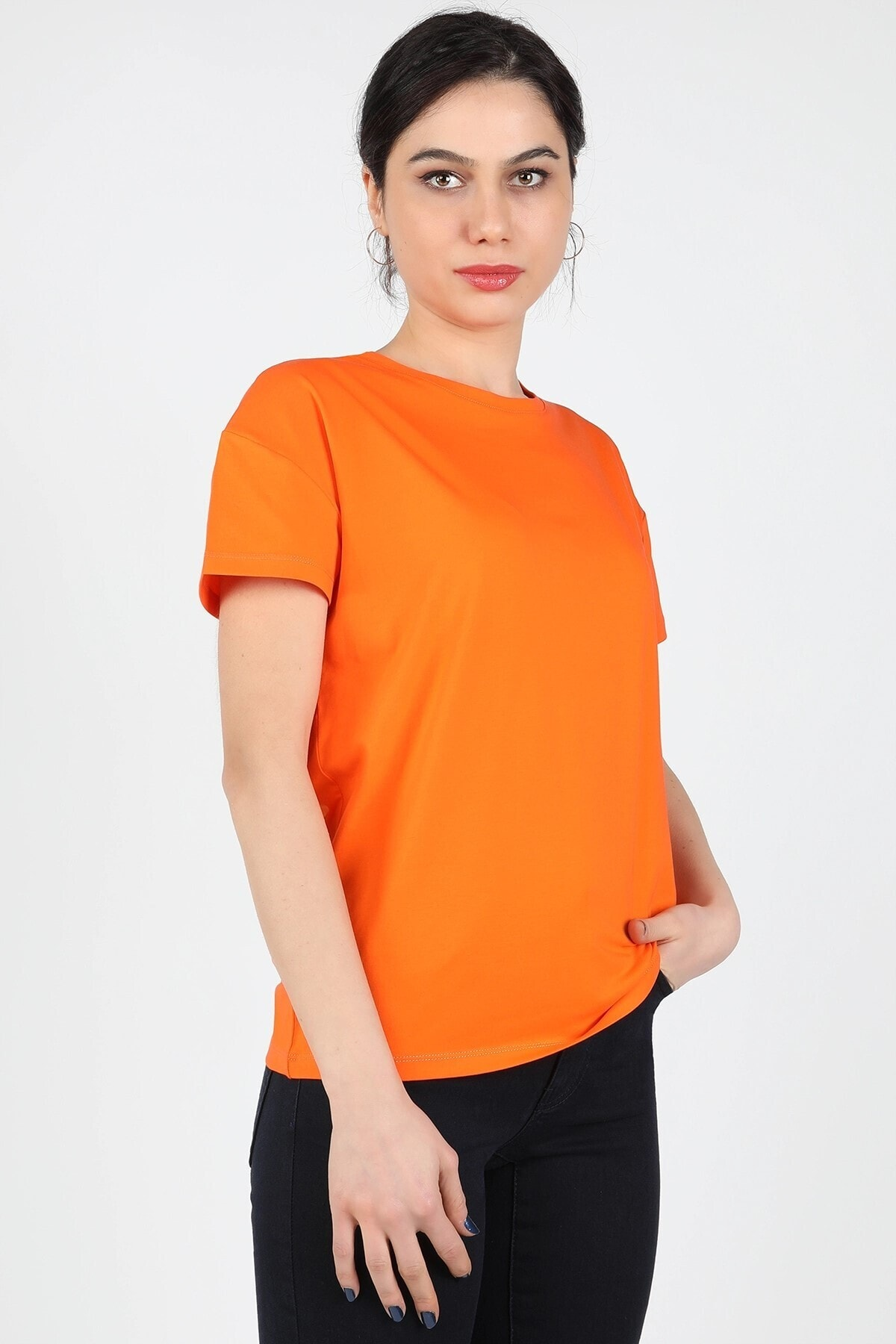 BALİNS Süprem Düşük Kol Tişört Turuncu 2