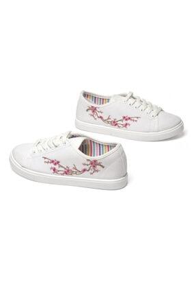Prive Kadın Beyaz Günlük Ayakkabı