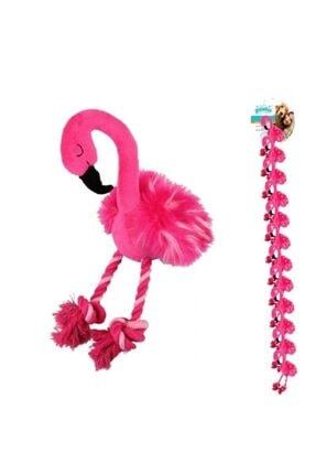 Pawise Peluş Flamingo Köpek Oyuncağı S