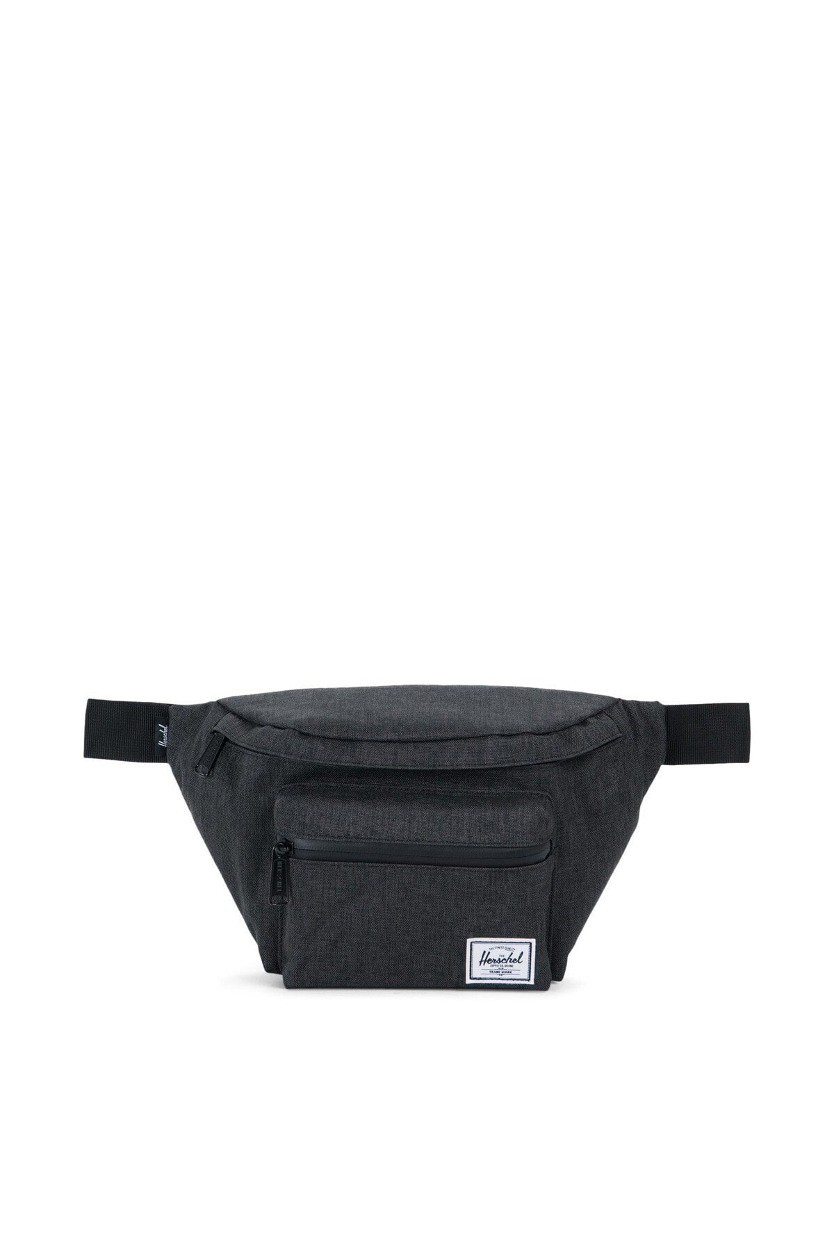 Herschel Supply Co. Black Crosshatch Bel Çantası 10017-02090-Os 1