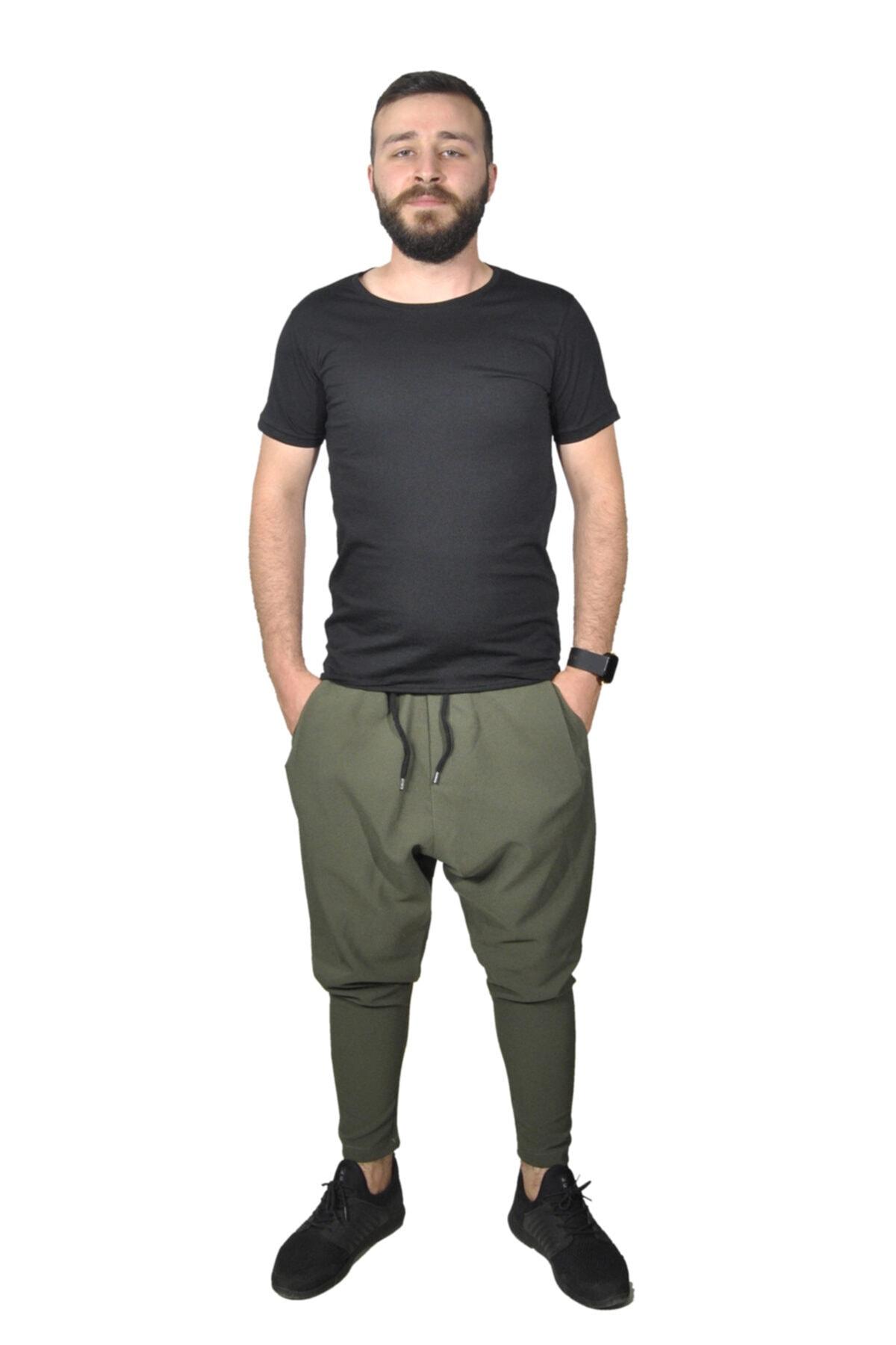 BAYKİM Erkek Haki Şalvar Model Pantolon 2