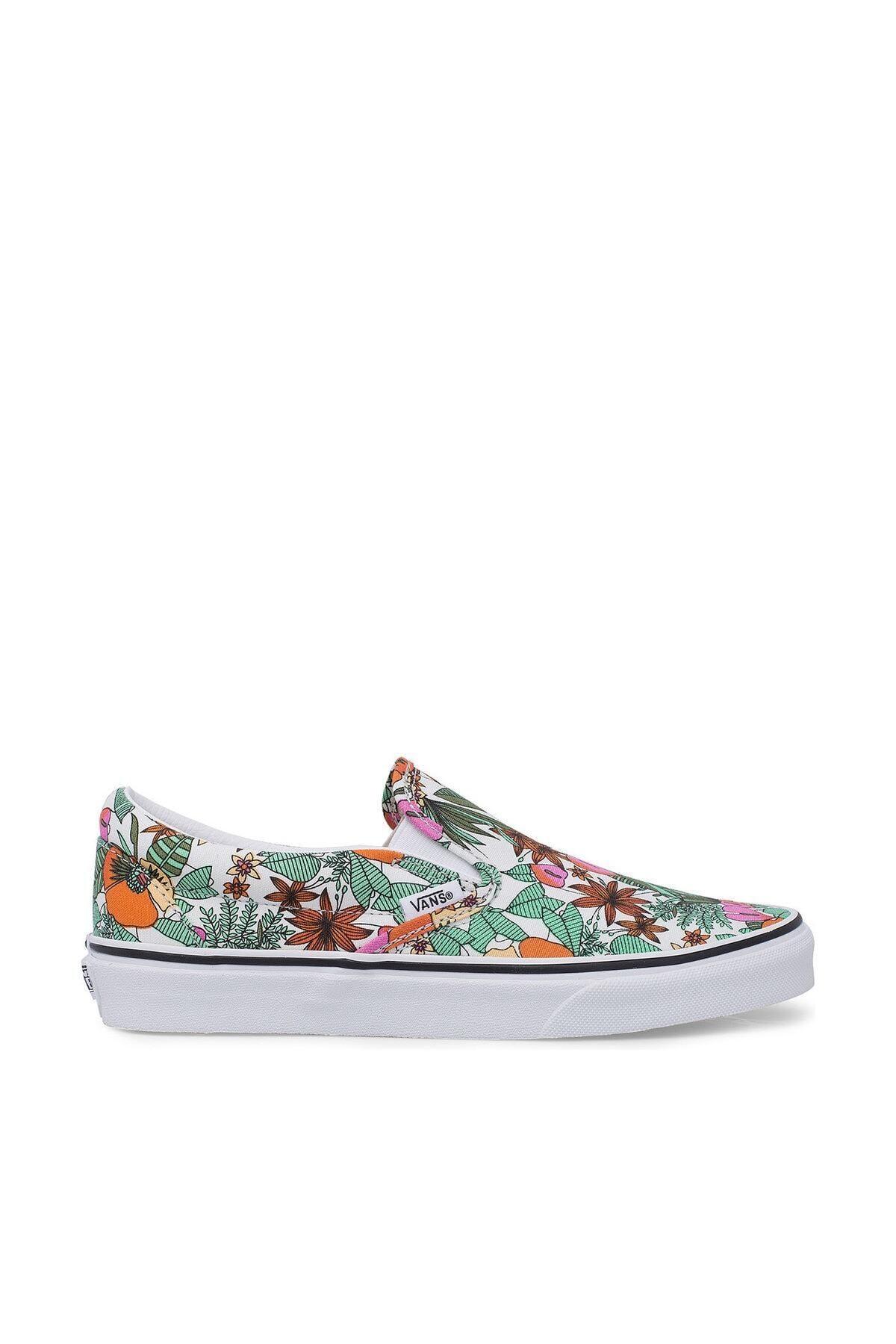 Vans UA CLASSIC SLIP-ON Çok Renkli Kadın Slip On Ayakkabı 100583586 1