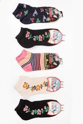 Zafoni Kadın Çok Renkli Çorap