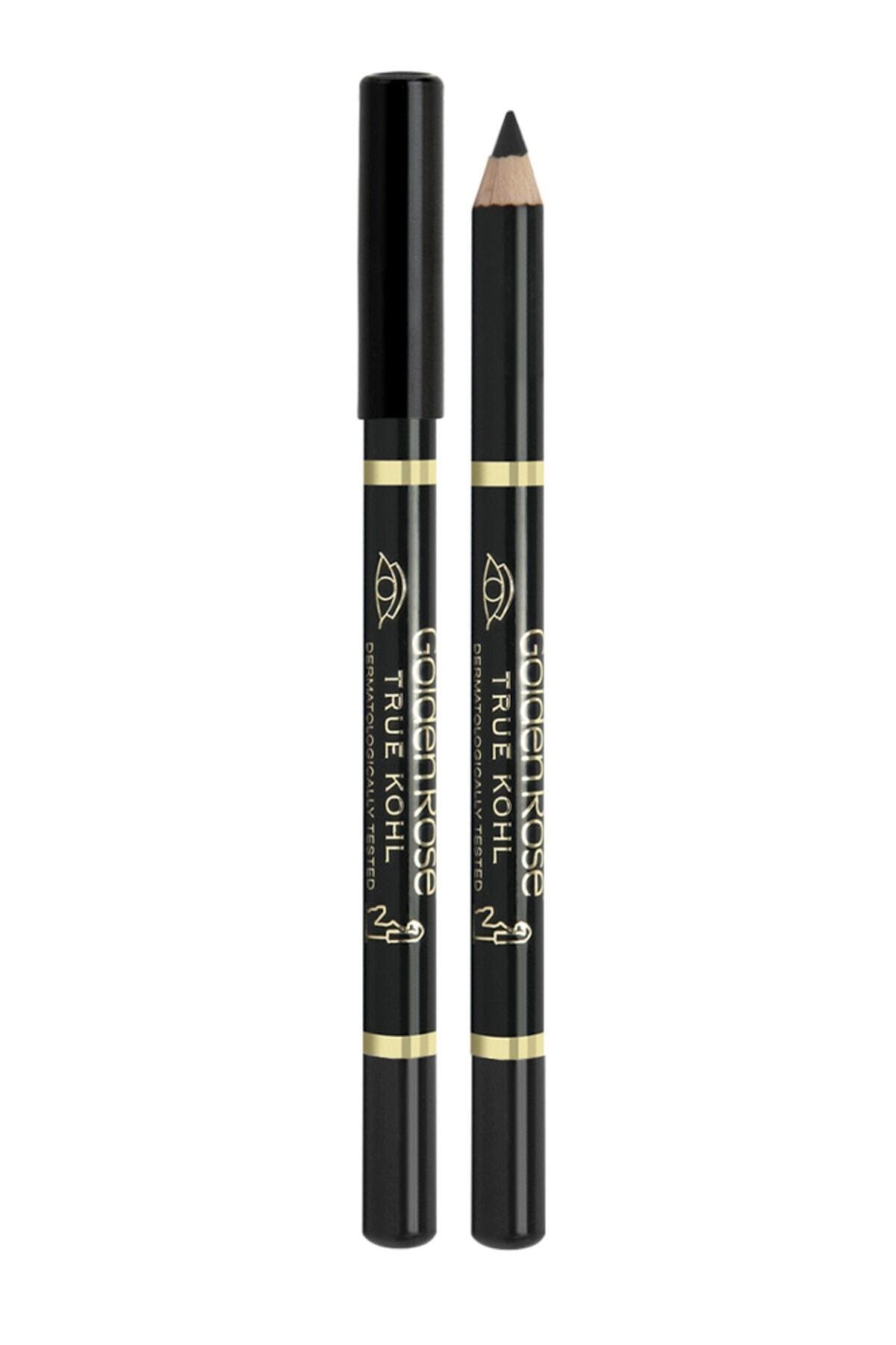 Golden Rose Siyah Eyeliner - True Kohl Eyeliner Black 8691190090098 1
