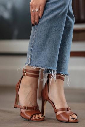 Mio Gusto Isabel Taba Topuklu Ayakkabı