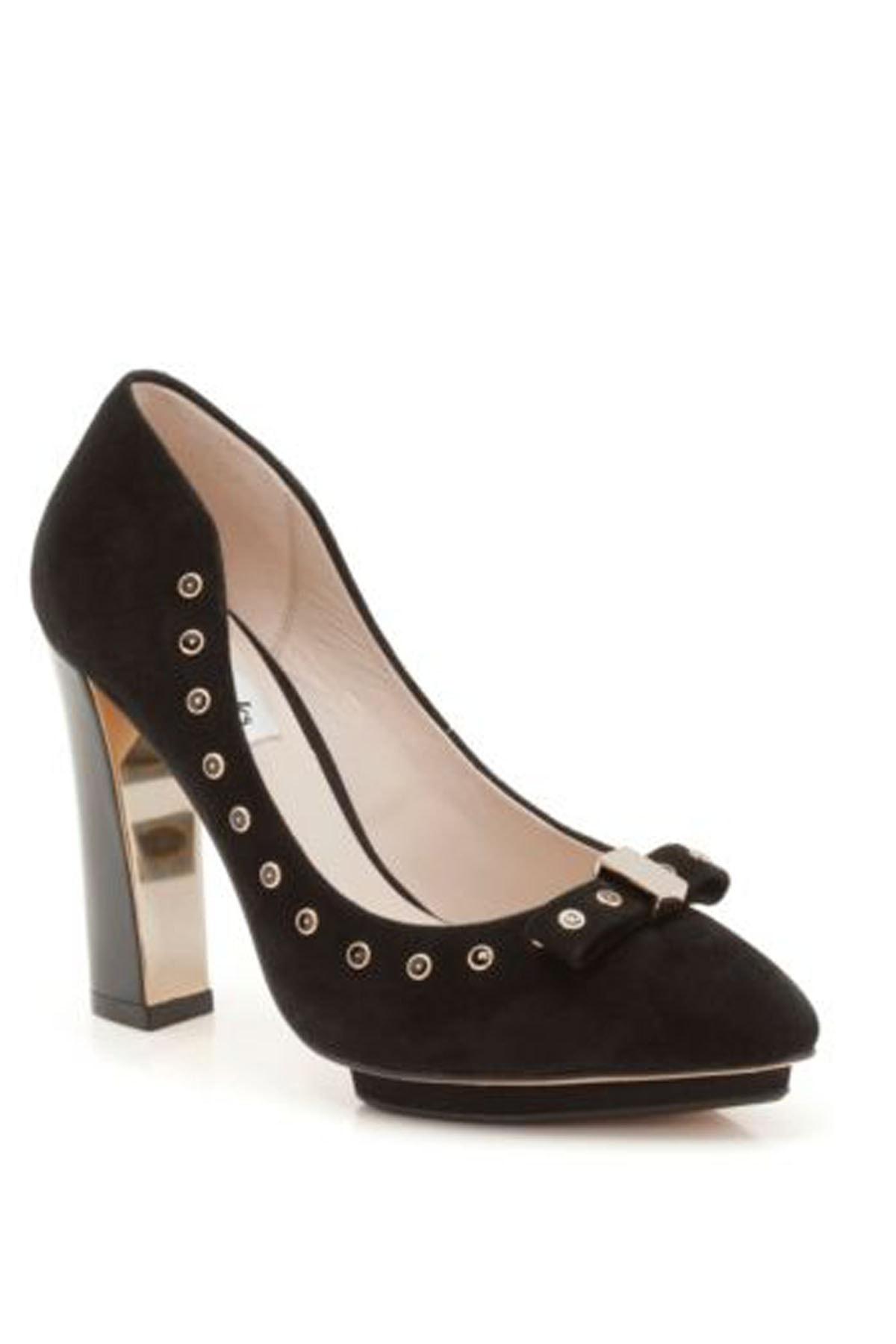 CLARKS Kadın Siyah Topuklu  Ayakkabı 1